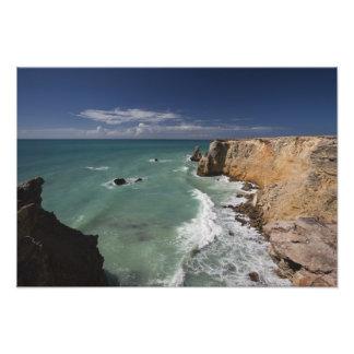 Puerto Rico, West Coast, Cabo Rojo, coastline 2 Photo Art