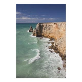 Puerto Rico, West Coast, Cabo Rojo, coastline Photograph