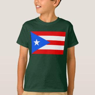 Puerto Rico World Flag Tees