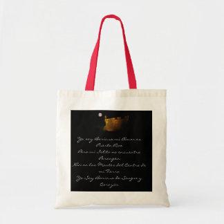 Puerto Rico, Yo soy Boricua mi Amor e... Canvas Bags