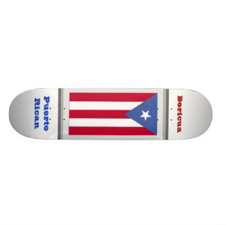 PuertoRican - Boricua 20 Cm Skateboard Deck