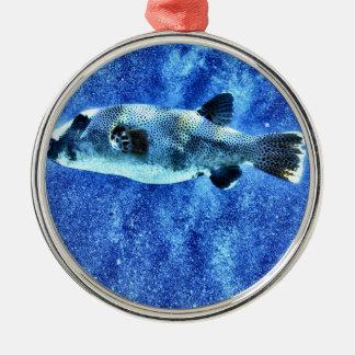 Puffer Fish Christmas Ornament
