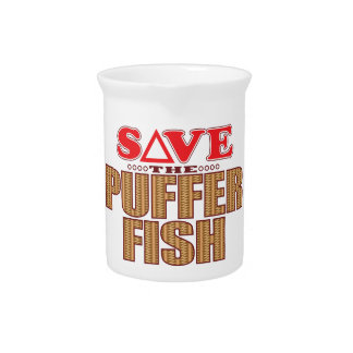 Puffer Fish Save Pitcher