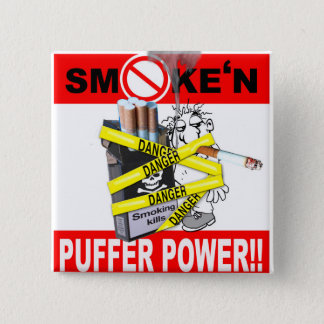 PUFFER POWER_1 15 CM SQUARE BADGE