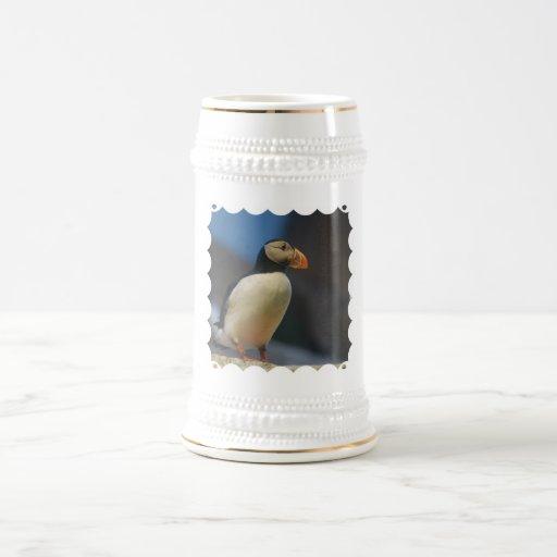 Puffin Beer Stein Mug