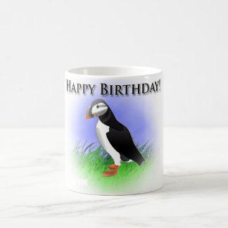 Puffin Birthday Mug