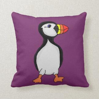 Puffin Cushion