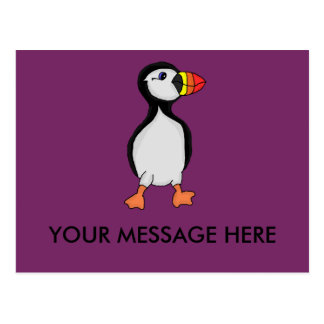 Puffin design cards and paper products postcard