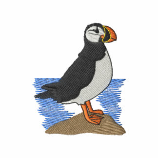Puffin Embroidered Hooded Sweatshirts