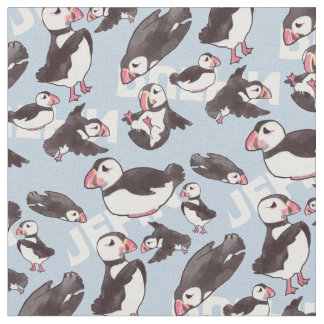 Puffin Fabric