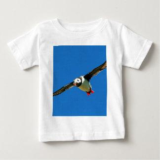 Puffin in flight skellig Islands Ireland Baby T-Shirt