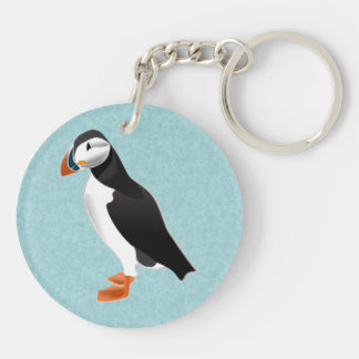 puffin key ring