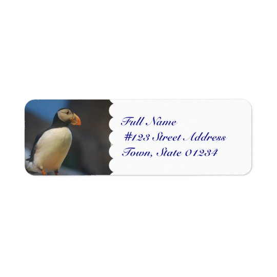 Puffin Mailing Labels