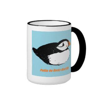 puffin ringer mug