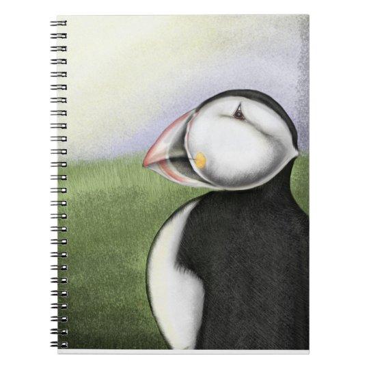 Puffin notebook
