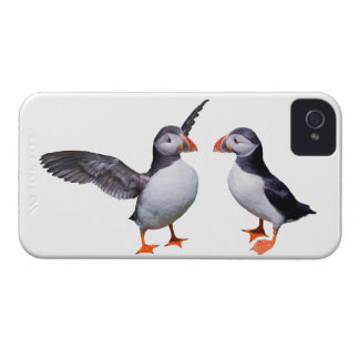 Puffin Pals iPhone 4 Case (choose your colour)