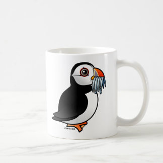 Puffin Prowess Classic White Coffee Mug