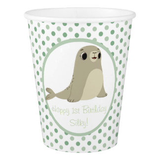 Puffin Rock Party Cup - Silky
