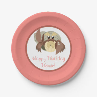 Puffin Rock Party Plate - Bernie 7 Inch Paper Plate