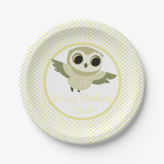 Puffin Rock Party Plate - Otto