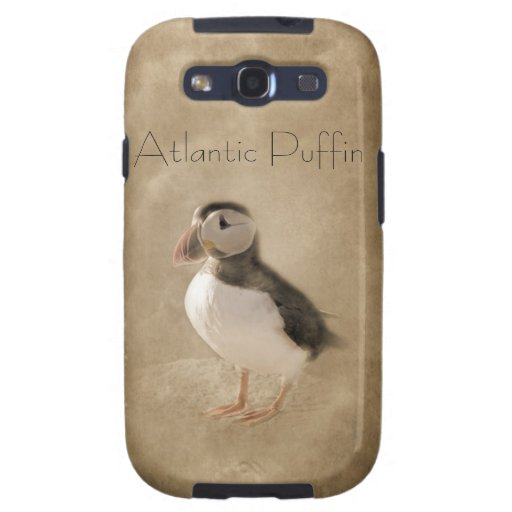 PUFFIN SAMSUNG GALAXYS3 iPHONE CASE Galaxy SIII Case