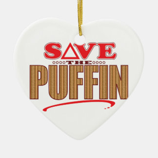 Puffin Save Christmas Ornament