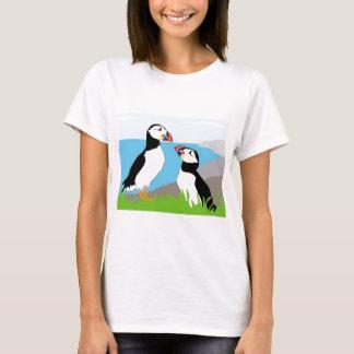 Puffin Sea Birds T-Shirt