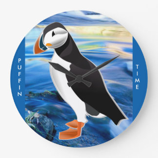 PUFFIN TIME WALL CLOCK
