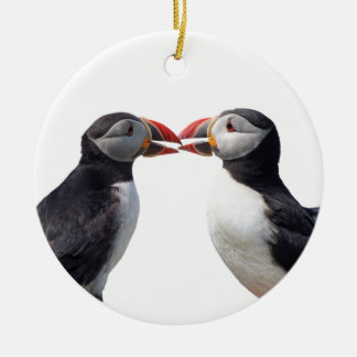 Puffins Christmas Ornament
