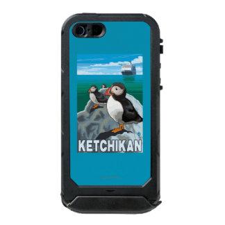 Puffins & Cruise Ship - Ketchikan, Alaska Incipio ATLAS ID™ iPhone 5 Case