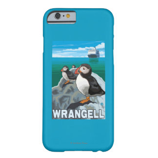 Puffins & Cruise Ship - Wrangell, Alaska Barely There iPhone 6 Case
