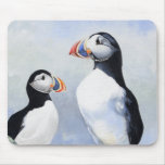 Puffins Mouse Pad