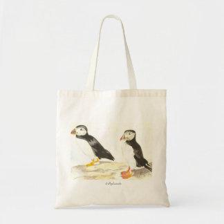 Puffins Tote Bag