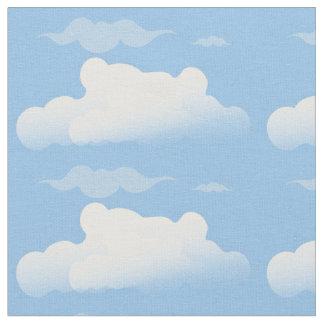 Puffy Clouds Designer Fabric