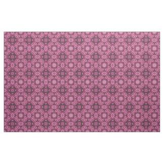 Puffy Pink Flowers Kaleidoscope Fabric