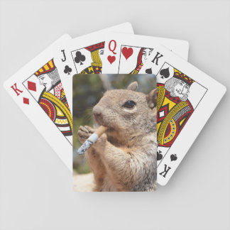 Puffy the Squirrel Playing Cards