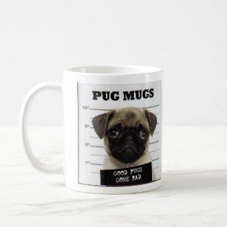 pug_8, pug_5 basic white mug