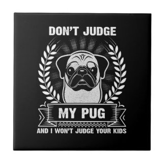 Pug Animal Tile