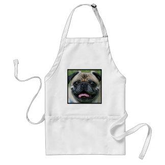 Pug Adult Apron