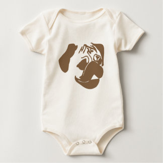 PUG Baby Baby Bodysuit