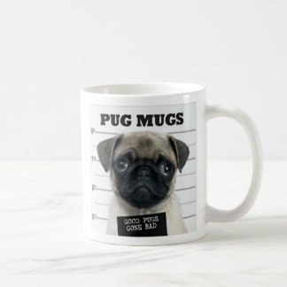 pug bad coffee mug
