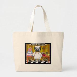 Pug Bakery Canvas Bag
