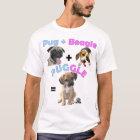 Pug + Beagle = Puggle T-Shirt
