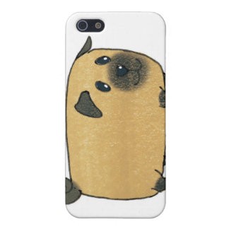 Pug Biscuit Dog Case For iPhone 5/5S