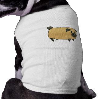 Pug Biscuit Dog Sleeveless Dog Shirt