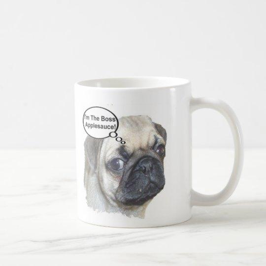 Pug Boss Coffee Mug