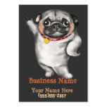 PUG business card template_breeder,veterinarian