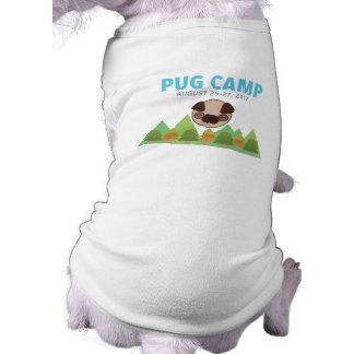Pug Camp Dog Tee