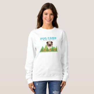 Pug Camp Women's Sweatshirt