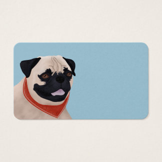 Pug Cartoon Business Card